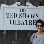Jerri at Jacob's Pillow Dance